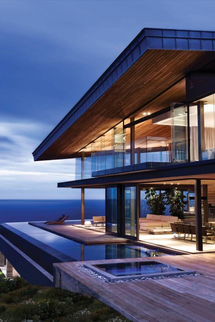 Contourner l'architecture de la résidence.