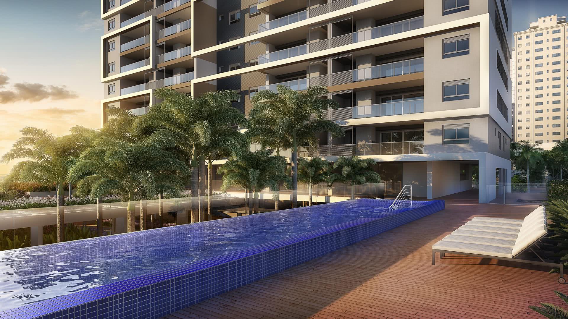 Les développements résidentiels utilisent également cette option moderne dans leur zone de loisirs.