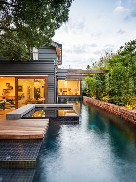 L'aménagement paysager de la résidence garantit intimité et chaleur