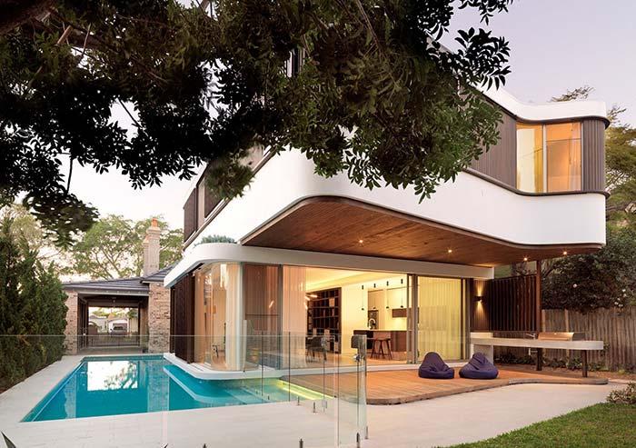 Maison en bois parfaite