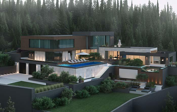 De combien de mètres carrés avez-vous besoin pour vivre dans une maison parfaite?