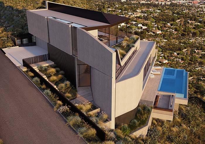 Maison parfaite avec une vue magnifique sur l'espace extérieur
