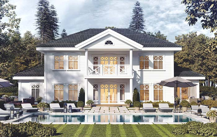 Maison parfaite: un rêve américain