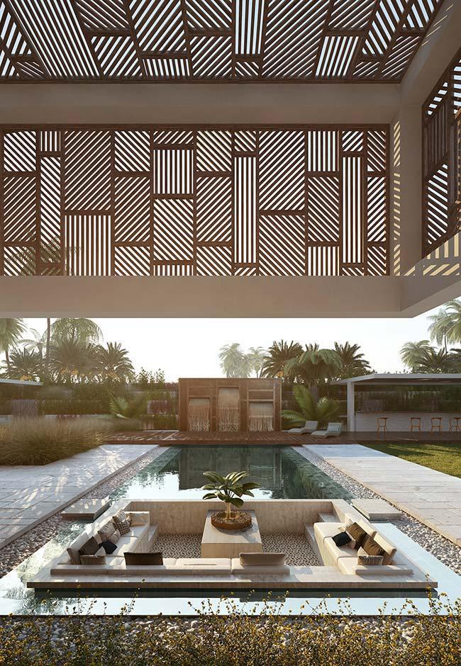 Maison parfaite: intégration entre les espaces intérieurs et extérieurs