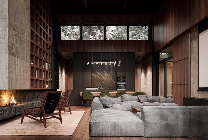Chambre parfaite pour se détendre en bonne compagnie