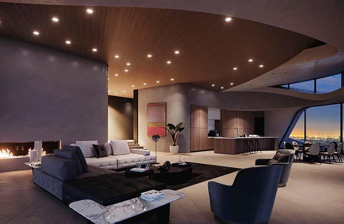Une bonne conception d'éclairage est également cruciale pour rendre la maison parfaite