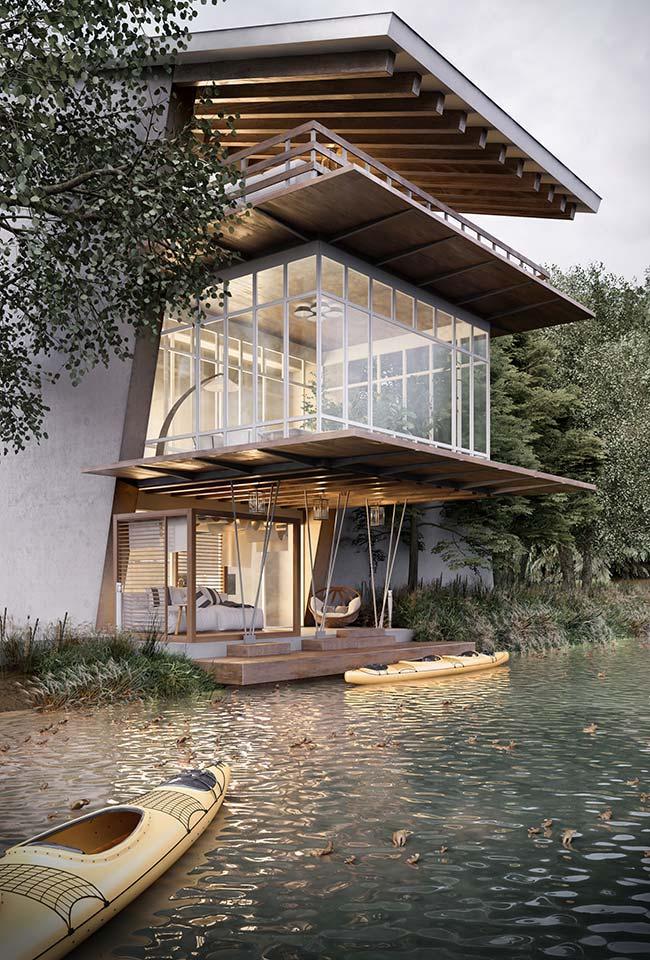 La maison parfaite pour ceux qui cherchent refuge au milieu de la nature