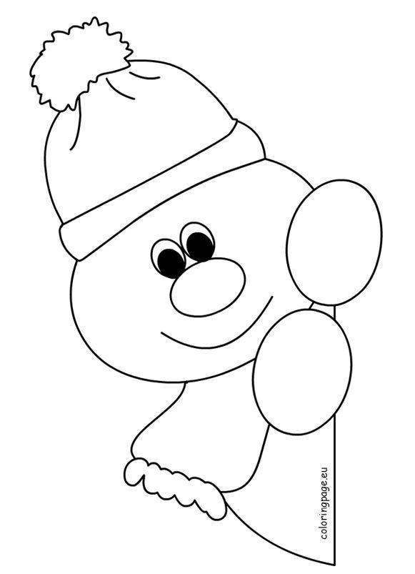 Decoration Fenetre Hiver Coloriages De Bonhomme De Neige Pour Enfants D Age Prescolaire Decoration Exterieur Votre Source Des Tendances Et Inspirations Decoration Exterieur Par Les Blogueuses Deco
