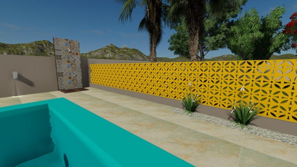 Mur de Cobogó pour l'extérieur