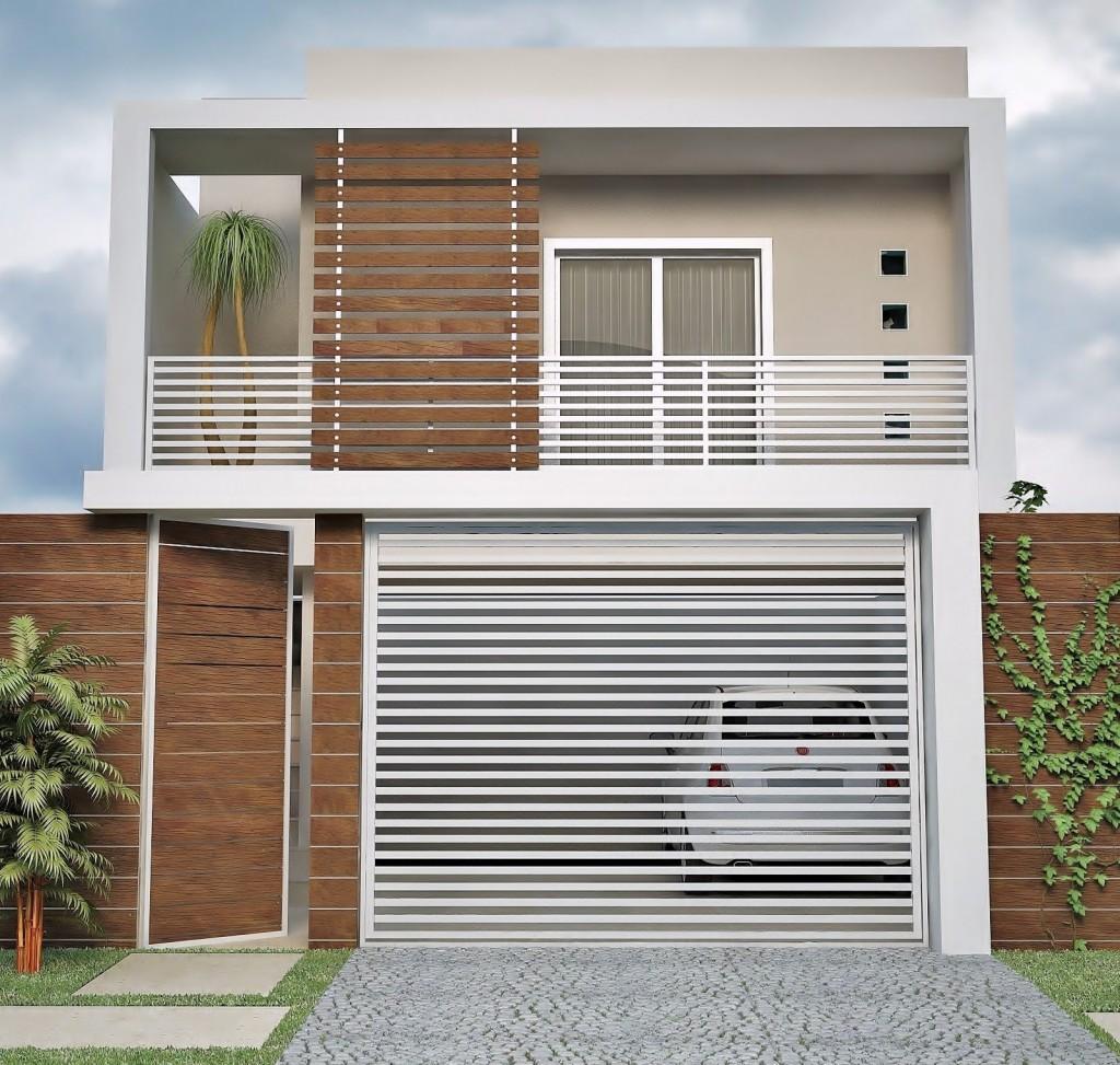 Pour une petite façade moderne !