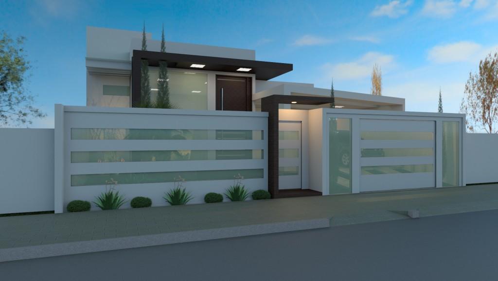 Pour une proposition avec une résidence moderne