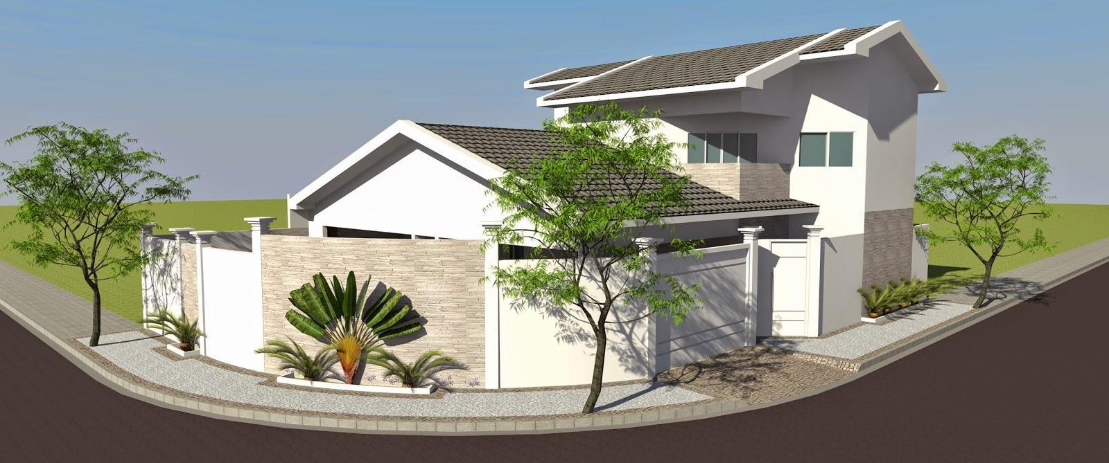 L'aménagement paysager contribue à mettre en valeur la façade